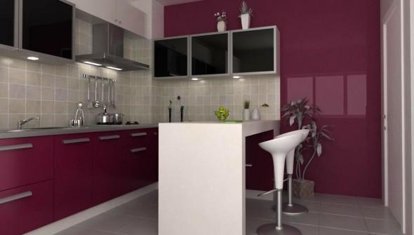 design bucatarie burgundy 02