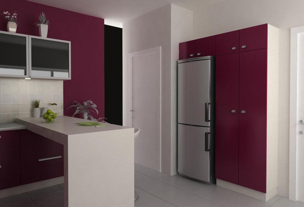 design bucatarie burgundy 09