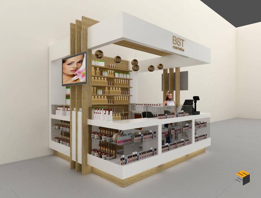 design stand mall